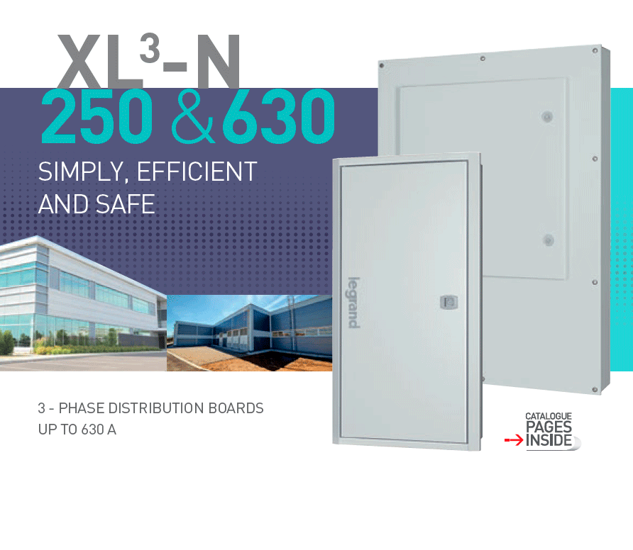 XL³-N 250 & 630 3-phase distribution boards brochure