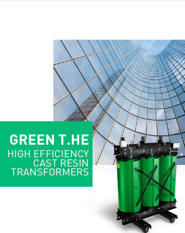 Green T.HE High Efficiency Cast Resin Transformers brochure
